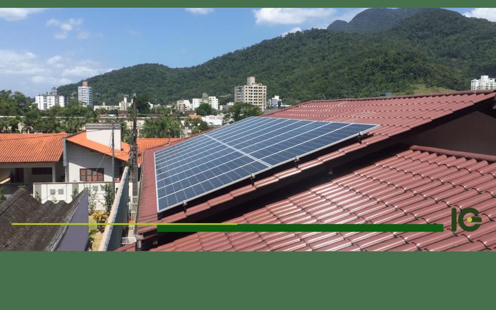 Como   é  feito   o   uso   de   energia   solar   em   casas   e   condomínios